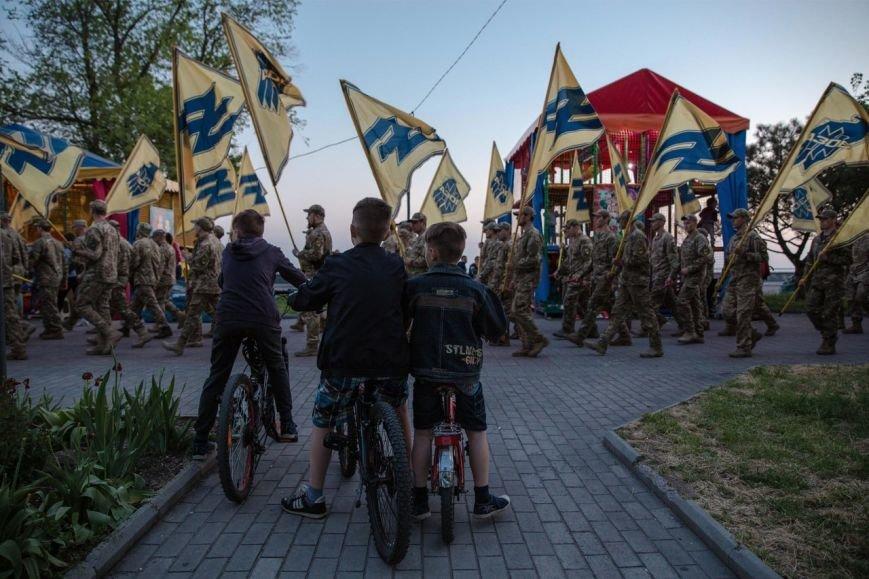 Освобождавший Мариуполь полк отметил День рождения (ФОТО), фото-1