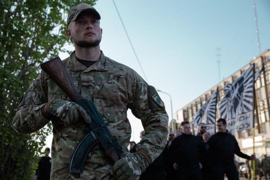 Освобождавший Мариуполь полк отметил День рождения (ФОТО), фото-2