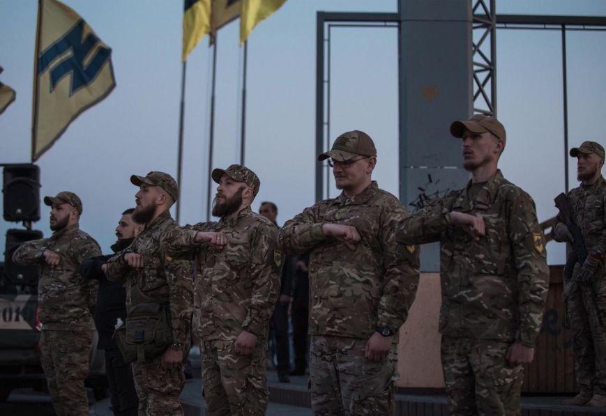 Освобождавший Мариуполь полк отметил День рождения (ФОТО), фото-3