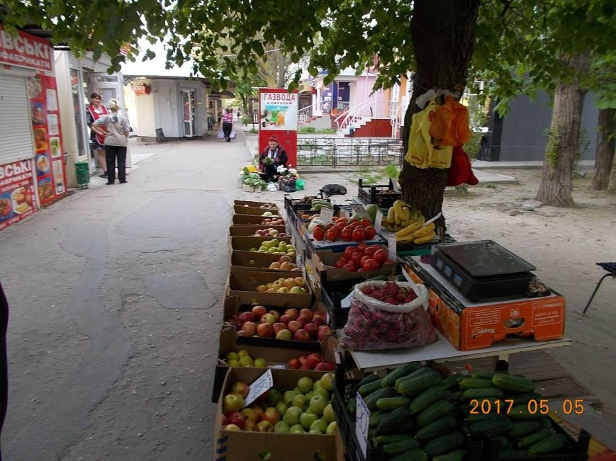В Херсоне городская власть показательно борется со стихийной торговлей (фото), фото-5