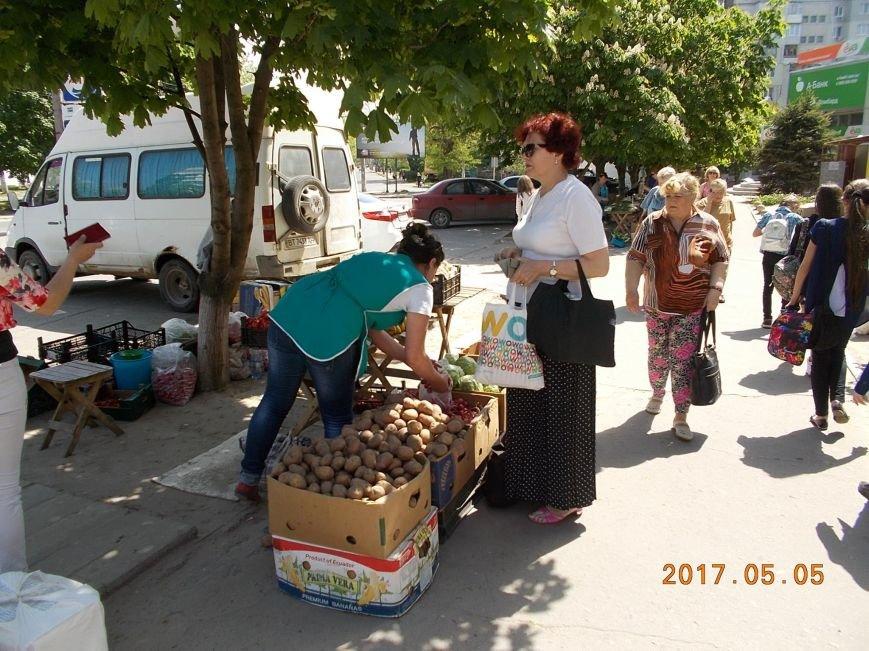 В Херсоне городская власть показательно борется со стихийной торговлей (фото), фото-2