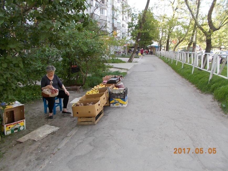 В Херсоне городская власть показательно борется со стихийной торговлей (фото), фото-4