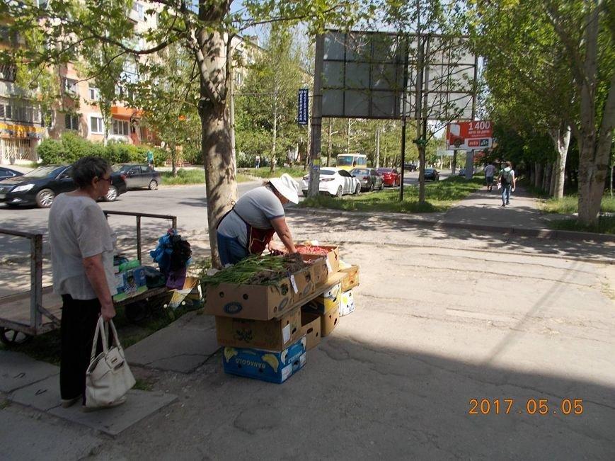 В Херсоне городская власть показательно борется со стихийной торговлей (фото), фото-3
