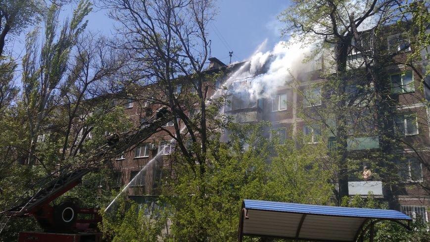 В Мариуполе сгорел балкон и часть квартиры (ФОТО), фото-3