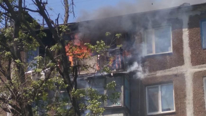 В Мариуполе сгорел балкон и часть квартиры (ФОТО), фото-2