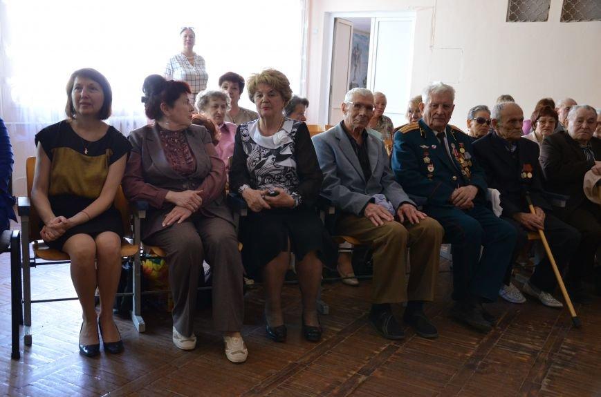 В Каменском школьники встретились с ветеранами, фото-1