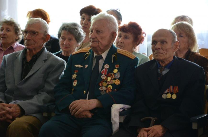 В Каменском школьники встретились с ветеранами, фото-7