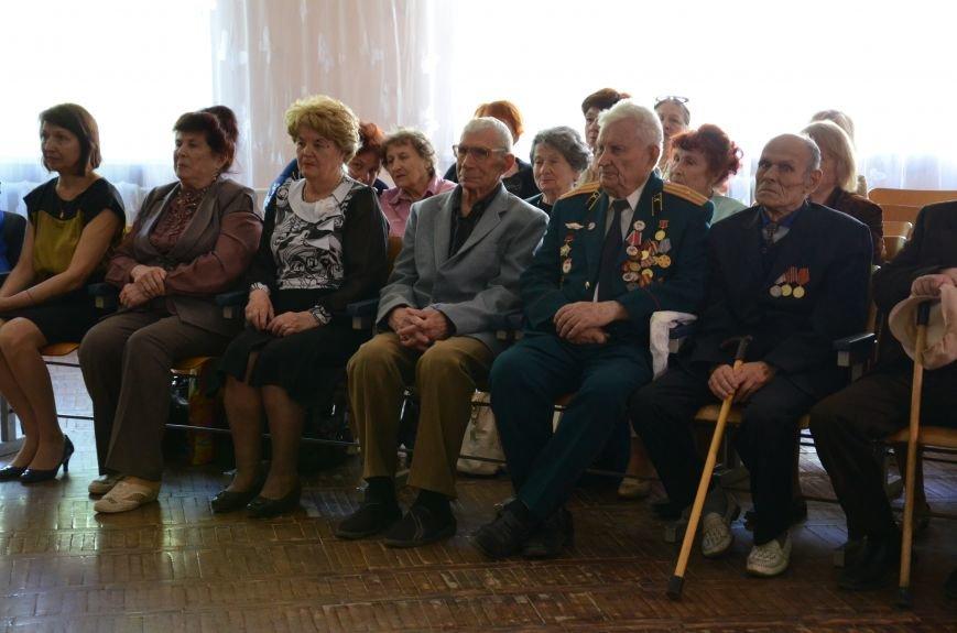 В Каменском школьники встретились с ветеранами, фото-5