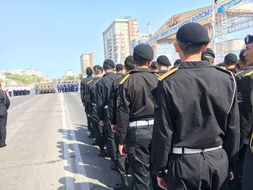 В Актау прошло торжественное награждение военнослужащих, фото-11