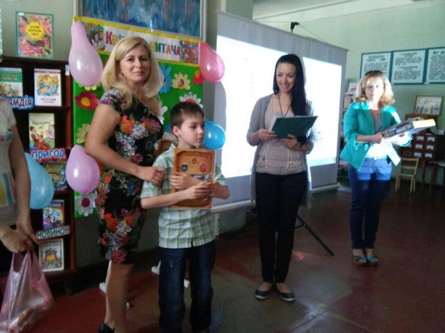 Ежегодный конкурс-сказка «Цветник читателя» в никопольской  детской библиотеке-филиале №4, фото-10