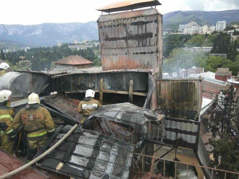 На ЮБК горел пятизвездочный отель: эвакуировано 25 человек (ФОТО), фото-6