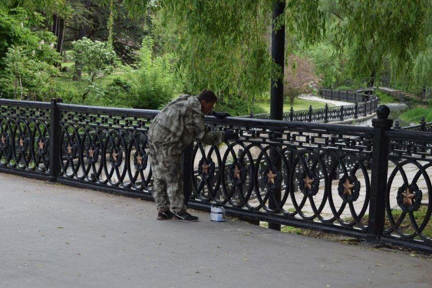 Бахарев заявил о готовности Симферополя к празднованию Дня Победы и попросил горожан не мусорить (ФОТО), фото-5