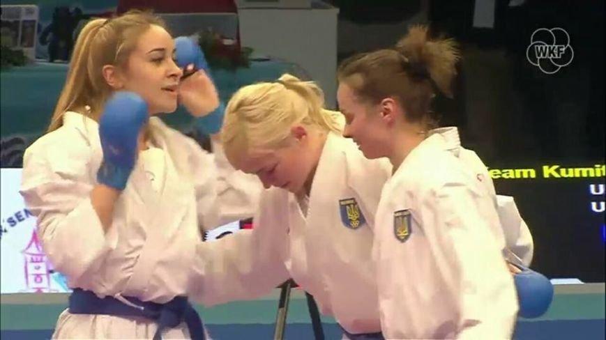 Чемпионка Европы по каратэ Анита Серегина везет в Черноморск бронзу в личном поединке и золото в командном противостоянии (фото), фото-1