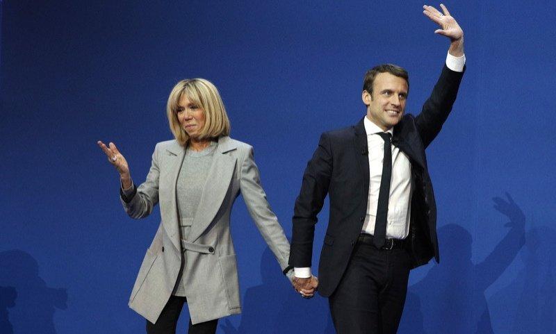 ТОП-10 фактів про нового президента Франції Еммануеля Макрона і його першу леді, фото-6