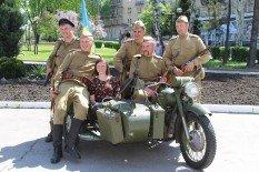 В Покровске прошел автопробег военной техники времен Второй мировой, фото-6