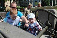 В Покровске прошел автопробег военной техники времен Второй мировой, фото-4