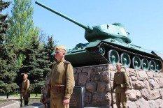 В Покровске прошел автопробег военной техники времен Второй мировой, фото-2