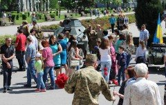 В Покровске прошел автопробег военной техники времен Второй мировой, фото-9
