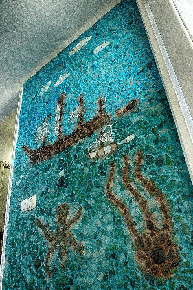 Сокровища Черного моря: одесситка создает уникальные витражи из морского стекла (ФОТО, ВИДЕО), фото-15