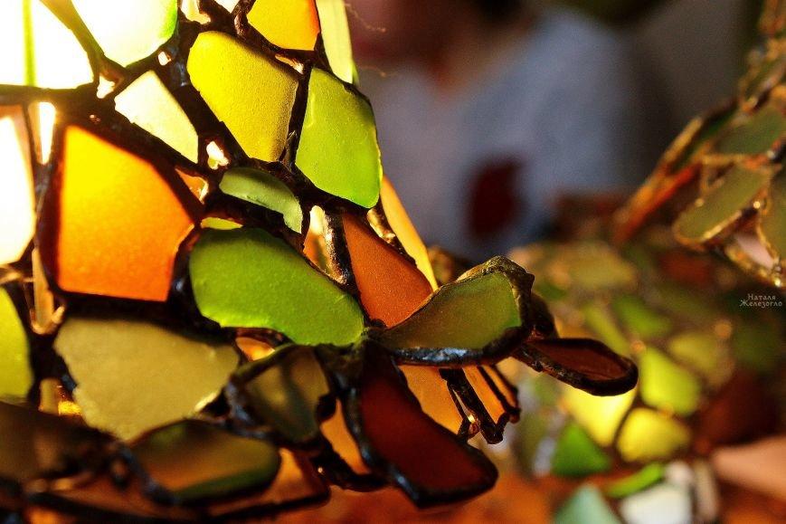 Сокровища Черного моря: одесситка создает уникальные витражи из морского стекла (ФОТО, ВИДЕО), фото-13