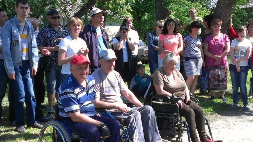 В Павлограде прошла эстафета дружбы среди людей с ограниченными возможностями, фото-1