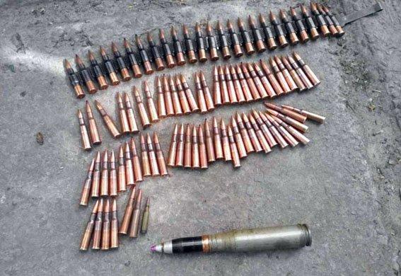 Полицейская собака нашла тайник с оружием в Донецкой области (ФОТО), фото-1