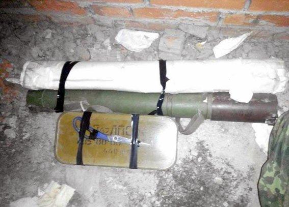 Полицейская собака нашла тайник с оружием в Донецкой области (ФОТО), фото-2