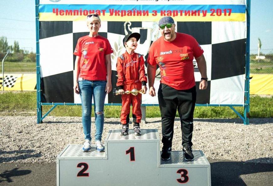 Сын актера «Дизель Студио» победил в первом этапе Чемпионата Украины по картингу в Каменском, фото-5