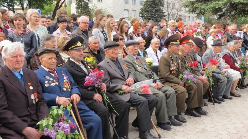 Праздник со слезами на глазах: в Покровске отметили День Победы, фото-11