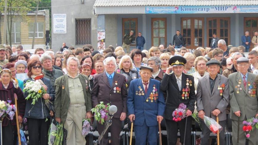 Праздник со слезами на глазах: в Покровске отметили День Победы, фото-13