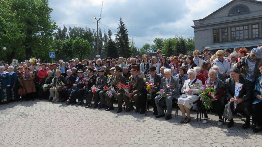Праздник со слезами на глазах: в Покровске отметили День Победы, фото-1