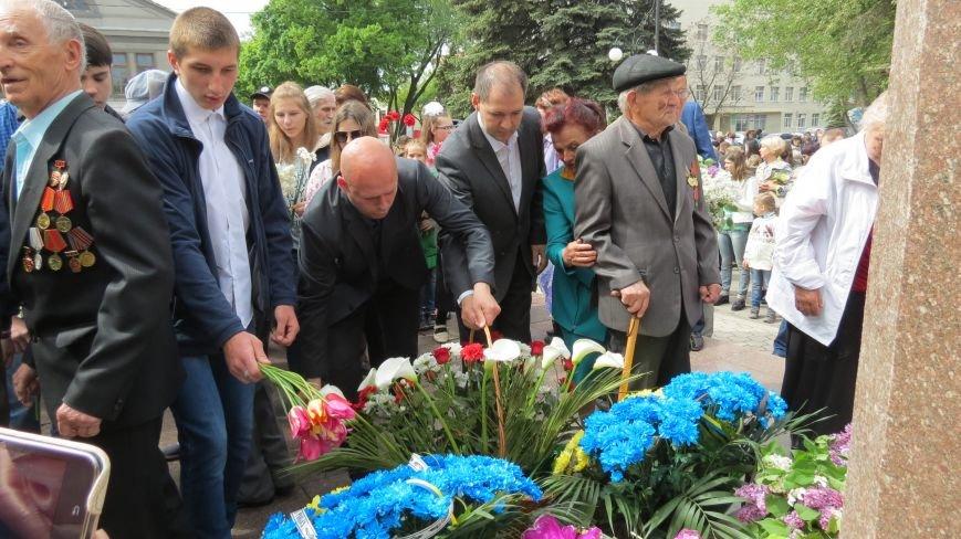 Праздник со слезами на глазах: в Покровске отметили День Победы, фото-20