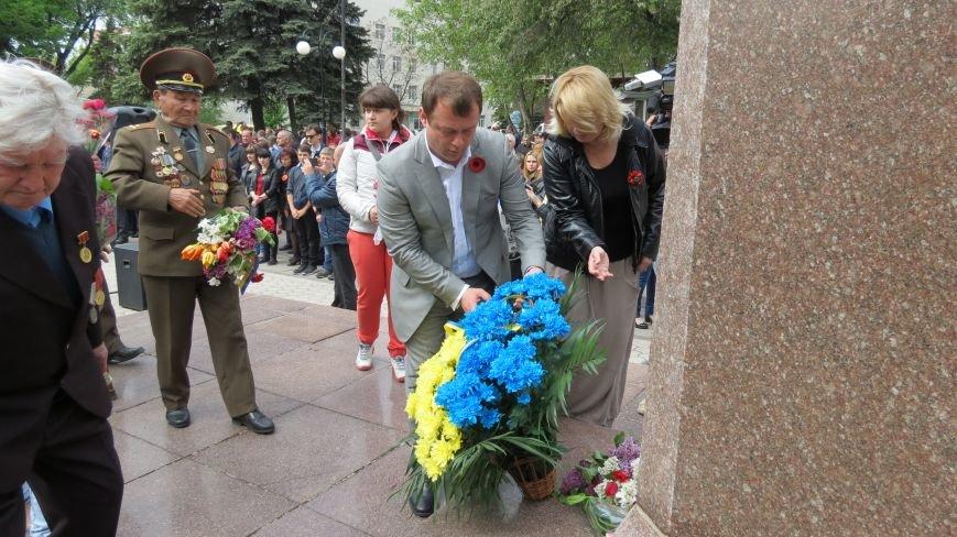 Праздник со слезами на глазах: в Покровске отметили День Победы, фото-18