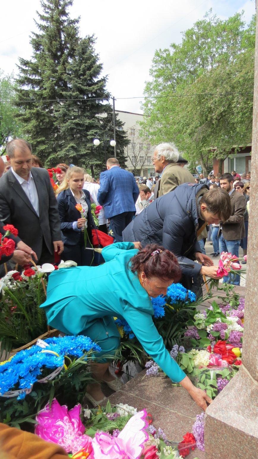 Праздник со слезами на глазах: в Покровске отметили День Победы, фото-22