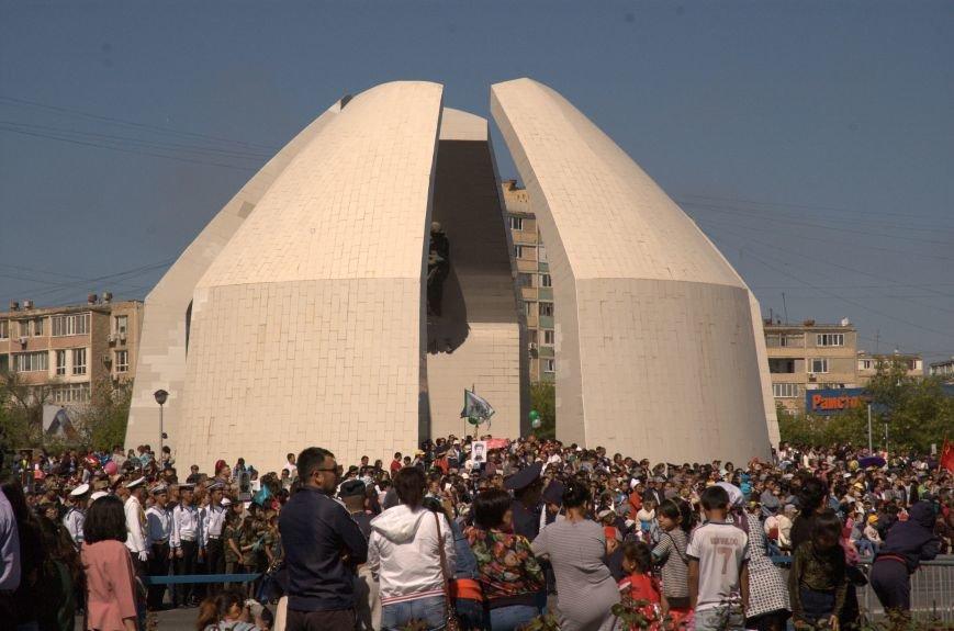 Как жители Актау празднуют День Великой Победы, фото-9