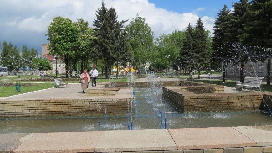 В Покровске открыли сезон фонтанов, фото-1