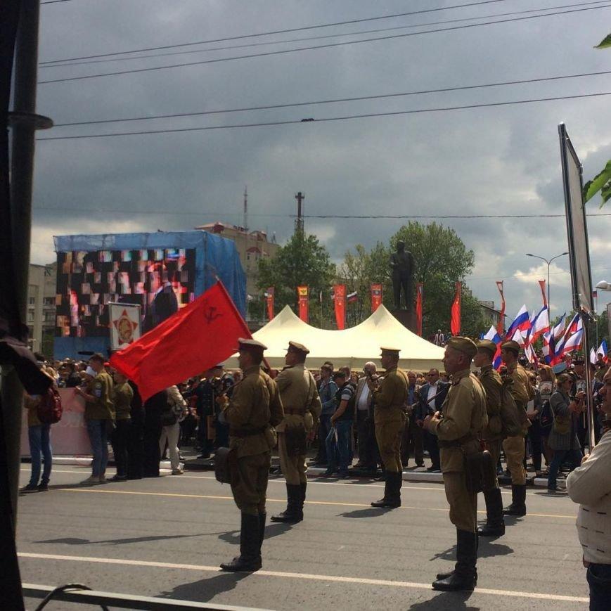 День Победы в Симферополе: шествие «Бессмертного полка» и военный парад (ФОТО), фото-3