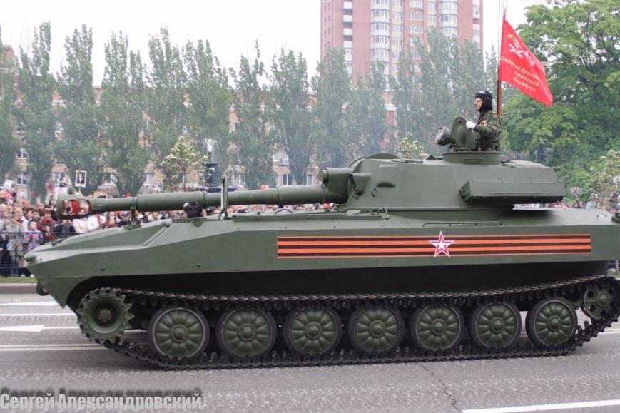В Донецке боевики «ДНР» провели парад с участием бронетехники (ФОТО), фото-9