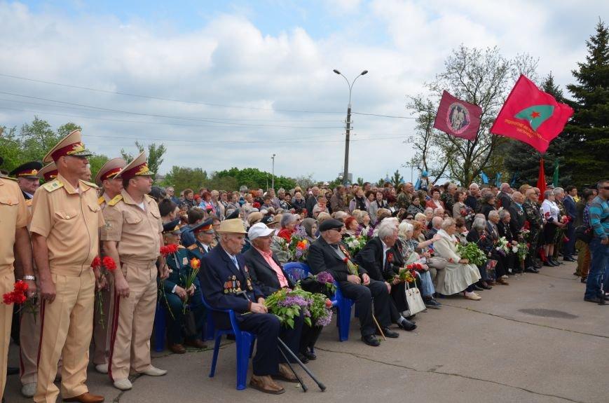 Мариупольцы празднуют День Победы (ФОТОРЕПОРТАЖ+ВИДЕО), фото-2