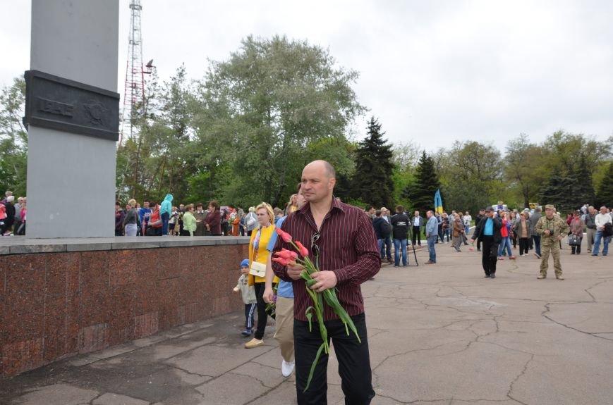 Мариупольцы празднуют День Победы (ФОТОРЕПОРТАЖ+ВИДЕО), фото-10