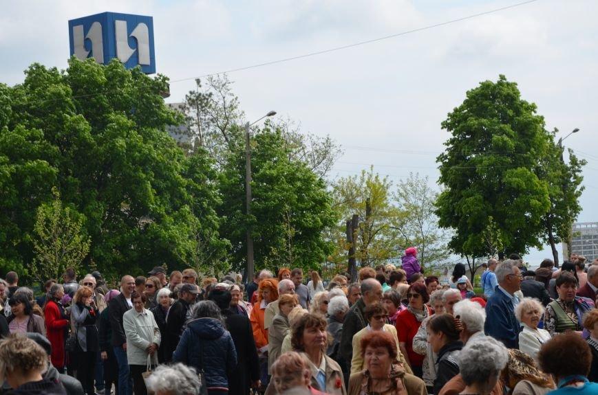Мариупольцы празднуют День Победы (ФОТОРЕПОРТАЖ+ВИДЕО), фото-29
