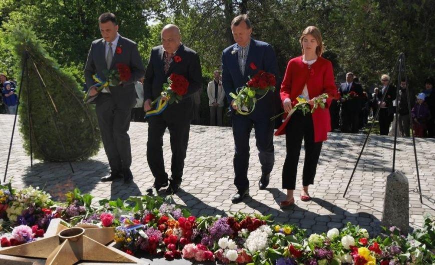 Як в Ужгороді відзначили День Перемоги над нацизмом: фото, фото-17