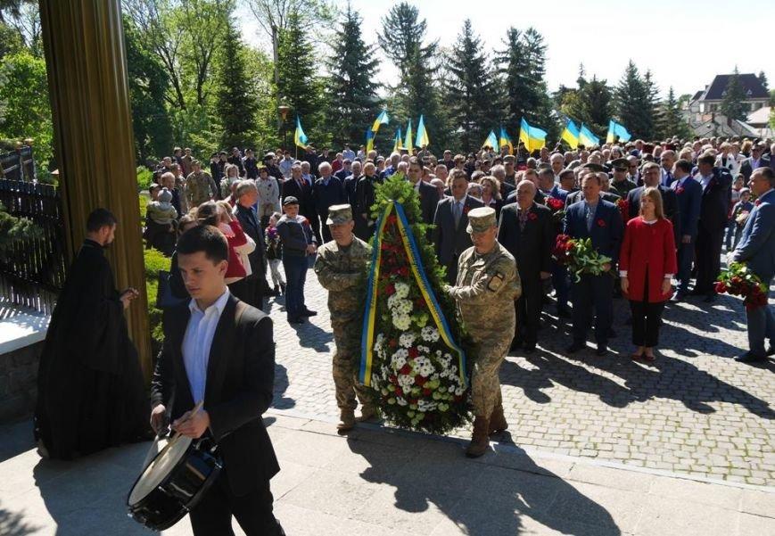 Як в Ужгороді відзначили День Перемоги над нацизмом: фото, фото-13