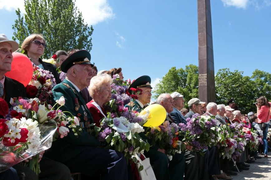 9 мая в Никополе: марш памяти и примирения, фото-5