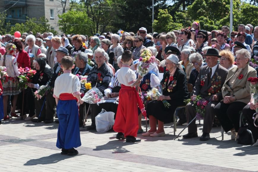 9 мая в Никополе: марш памяти и примирения, фото-9