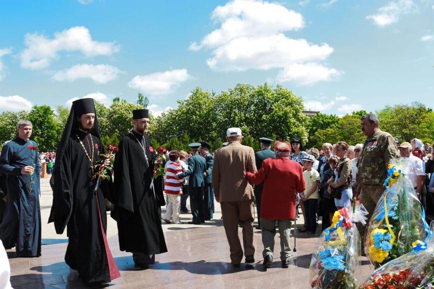 9 мая в Никополе: марш памяти и примирения, фото-12