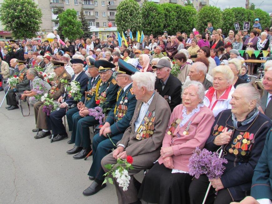 Как в Павлограде отмечают День победы, фото-2