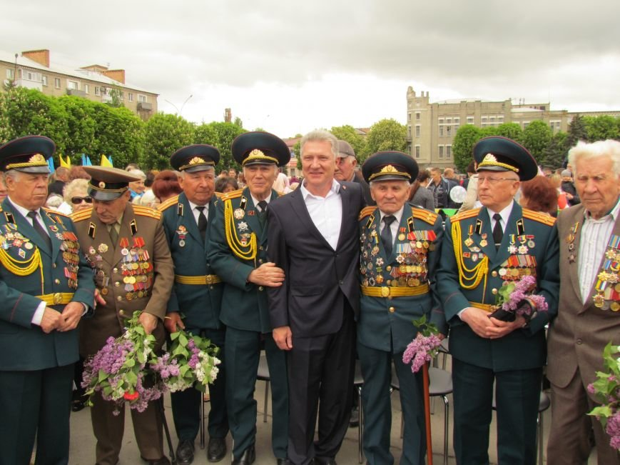 Как в Павлограде отмечают День победы, фото-3