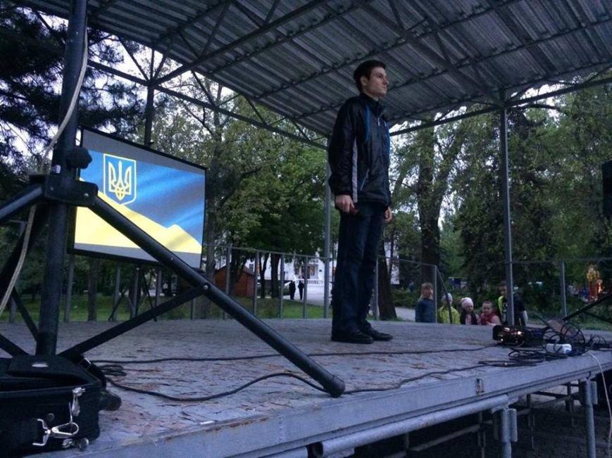 В центре Мариуполя показали фильм о событиях 9  мая 2014( ВИДЕО), фото-2