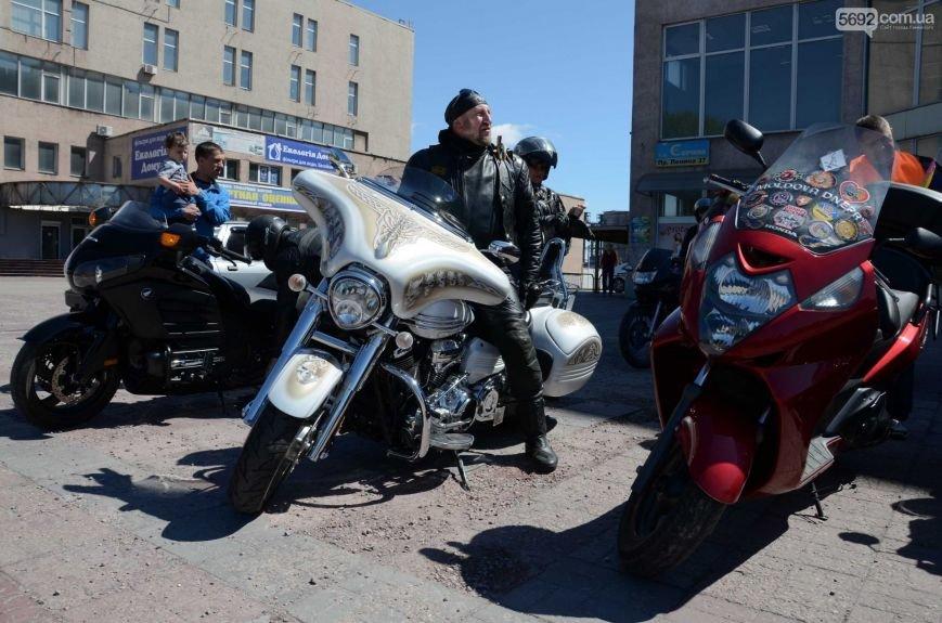 Байкеры Каменского совершили памятный мотопробег, фото-2